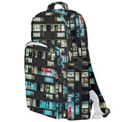 Architectural Design Architecture Building Cityscape Double Compartment Backpack