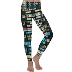 Architectural Design Architecture Building Cityscape Kids  Lightweight Velour Classic Yoga Leggings