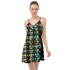 Architectural Design Architecture Building Cityscape Summer Time Chiffon Dress