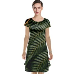 Green Leaves Photo Cap Sleeve Nightdress