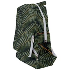 Green Leaves Photo Travelers  Backpack