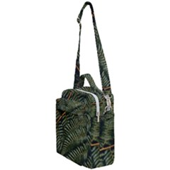 Green Leaves Photo Crossbody Day Bag