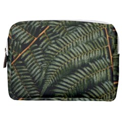 Green Leaves Photo Make Up Pouch (medium)