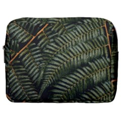 Green Leaves Photo Make Up Pouch (large)