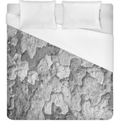 Nature Texture Print Duvet Cover (king Size)