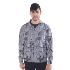 Nature Texture Print Men s Windbreaker