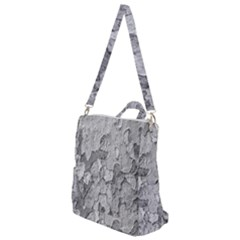 Nature Texture Print Crossbody Backpack