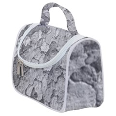 Nature Texture Print Satchel Handbag