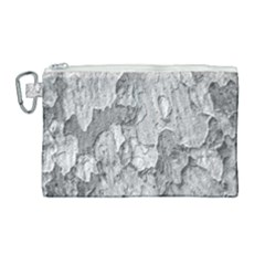 Nature Texture Print Canvas Cosmetic Bag (large)