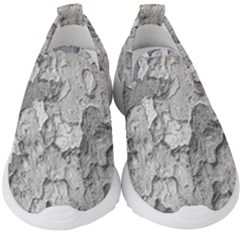 Nature Texture Print Kids  Slip On Sneakers