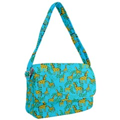 Cute Giraffes Pattern Courier Bag by bloomingvinedesign