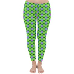Pattern Green Classic Winter Leggings by Mariart