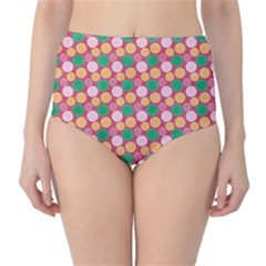 Circle Circumference Classic High-waist Bikini Bottoms by Alisyart