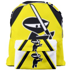 Ninja Signs Symbols Sword Fighter Giant Full Print Backpack