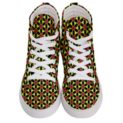 Pattern Texture Backgrounds Women s Hi-top Skate Sneakers