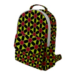 Pattern Texture Backgrounds Flap Pocket Backpack (large)
