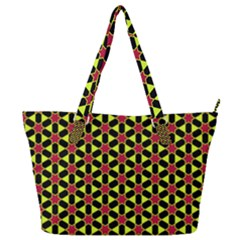 Pattern Texture Backgrounds Full Print Shoulder Bag by HermanTelo