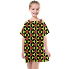 Pattern Texture Backgrounds Kids  One Piece Chiffon Dress