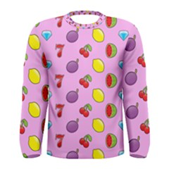 Slot Machine Wallpaper Men s Long Sleeve Tee