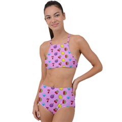 Slot Machine Wallpaper High Waist Tankini Set