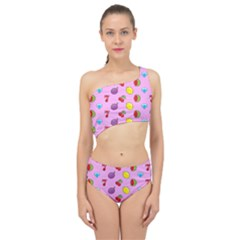 Slot Machine Wallpaper Spliced Up Two Piece Swimsuit