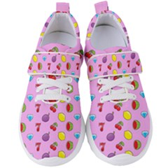 Slot Machine Wallpaper Women s Velcro Strap Shoes