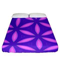 Purple Fitted Sheet (queen Size)
