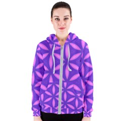 Purple Women s Zipper Hoodie