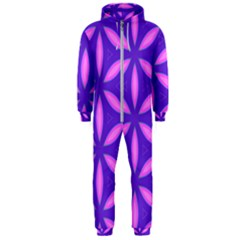 Purple Hooded Jumpsuit (men)