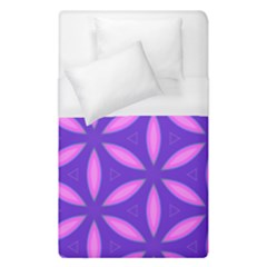 Purple Duvet Cover (single Size)