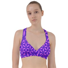 Purple Sweetheart Sports Bra