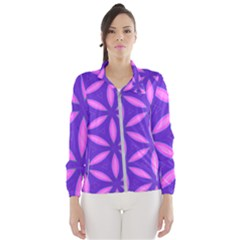 Purple Women s Windbreaker