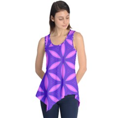 Purple Sleeveless Tunic
