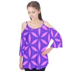Purple Flutter Tees