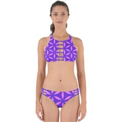 Purple Perfectly Cut Out Bikini Set