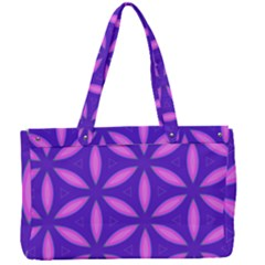 Purple Canvas Work Bag by HermanTelo