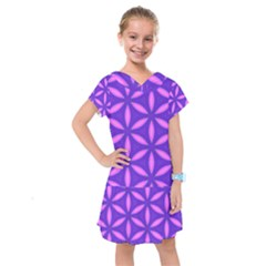 Purple Kids  Drop Waist Dress