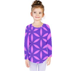 Purple Kids  Long Sleeve Tee