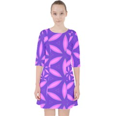 Purple Pocket Dress