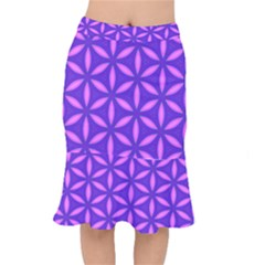 Purple Short Mermaid Skirt