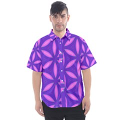 Purple Men s Short Sleeve Shirt
