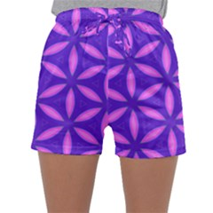 Purple Sleepwear Shorts
