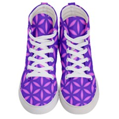Purple Women s Hi Top Skate Sneakers