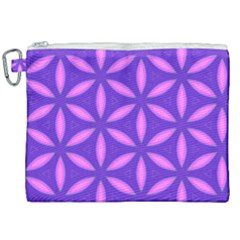Purple Canvas Cosmetic Bag (xxl)