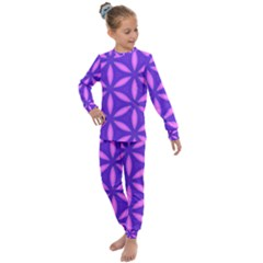 Purple Kids  Long Sleeve Set