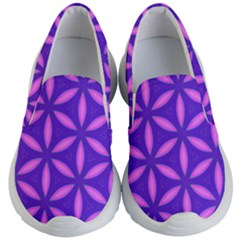 Purple Kids  Lightweight Slip Ons