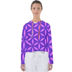 Purple Women s Slouchy Sweat