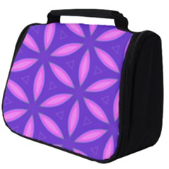 Purple Full Print Travel Pouch (big)