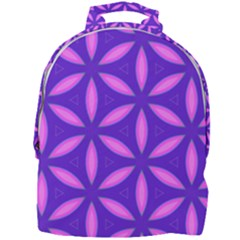 Purple Mini Full Print Backpack
