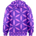 Purple Kids  Zipper Hoodie Without Drawstring View2